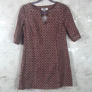 Tibi | Geometric Print Dress